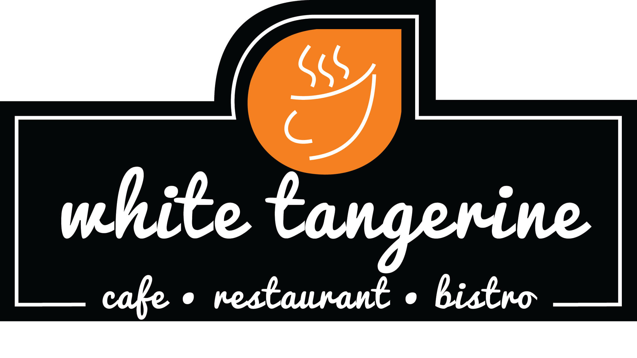 White Tangerine Cafe logo for Advanced And Safety